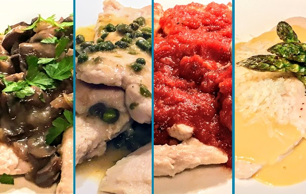 Chicken montage